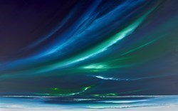 Bright Aurora II by Jonathan Shaw -  sized 48x30 inches. Available from Whitewall Galleries